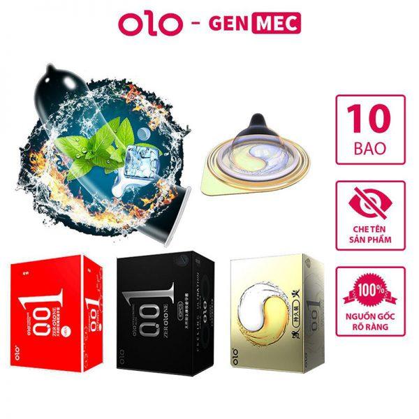 Bao Cao Su OLO 001 Đỏ Nhiều Gel