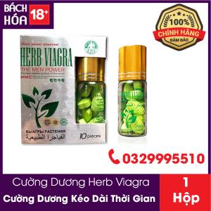 Thuốc cường dương thảo dược Herb Viagra 10 viên