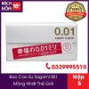 bao cao su sagami siêu mỏng 0.01